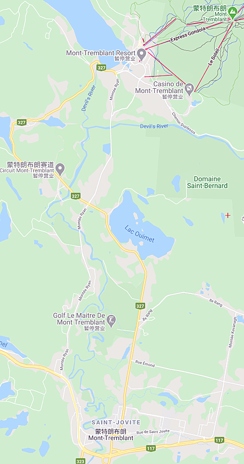 Google Carte Mont-Tremblant