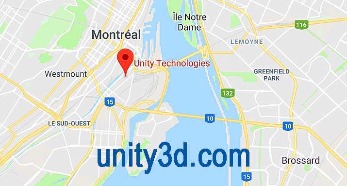 Unity Technologies in Montreal
